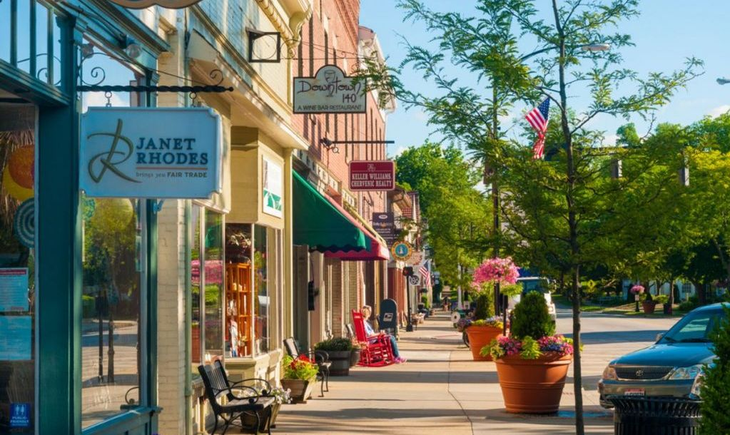 Quaint shops and businesses that go back more than a century give Hudson's Main Street a charming and inviting appeal