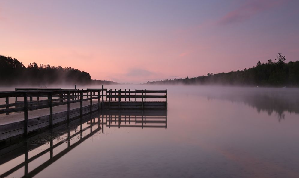 Dock in Itasca State Park