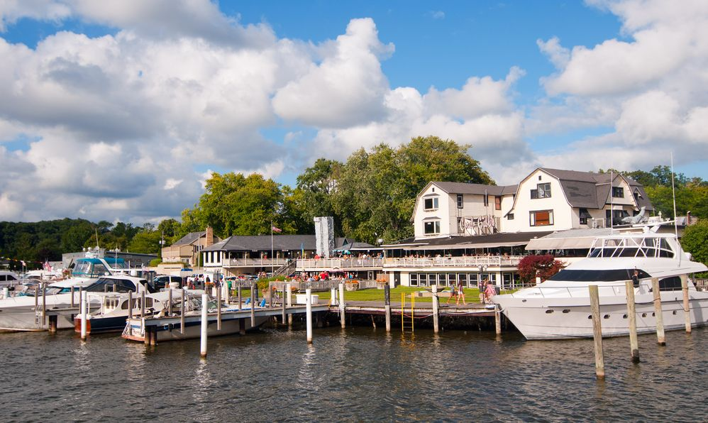 The town of Saugatuck, Michigan, with its busy waterfront and many recreational attractions, draws thousands of visitors every year on Septembe