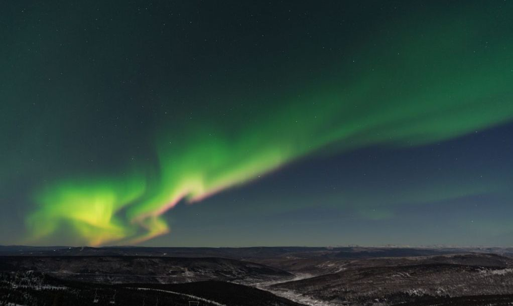 Cleary Summit Aurora Viewing Area, Fairbanks, United States