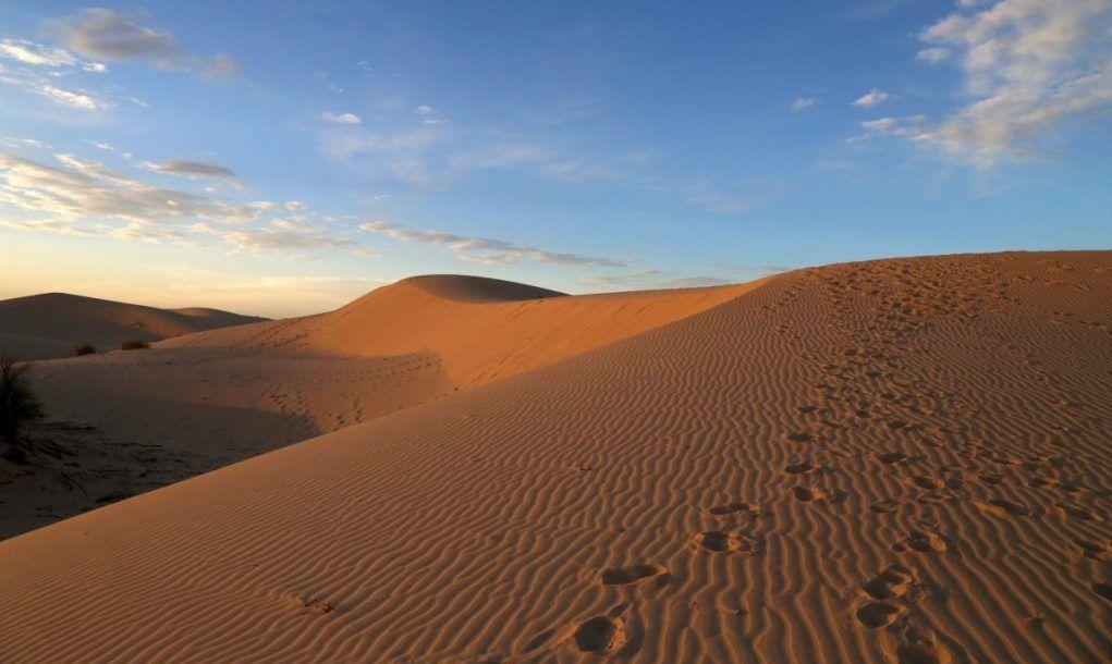 sandhills terrain dune sledding