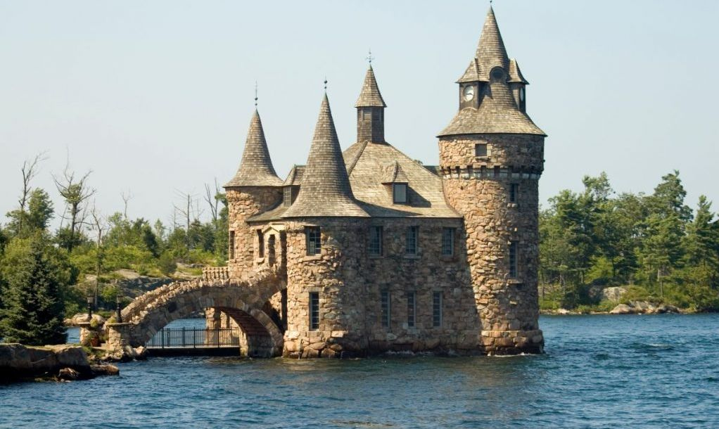 Castle by the water