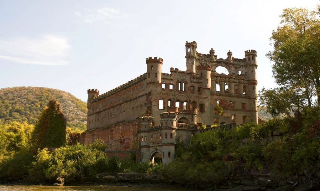 Bannerman Island Castle Armory and Residence, Pollepel Island, Hudson Highlands, New York.