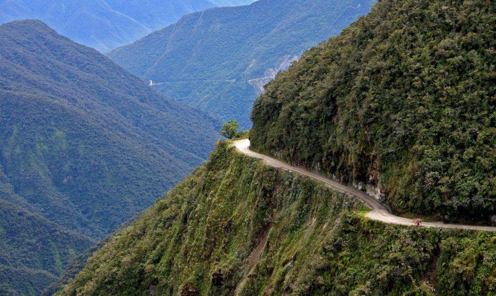 death road bolivia to coroico