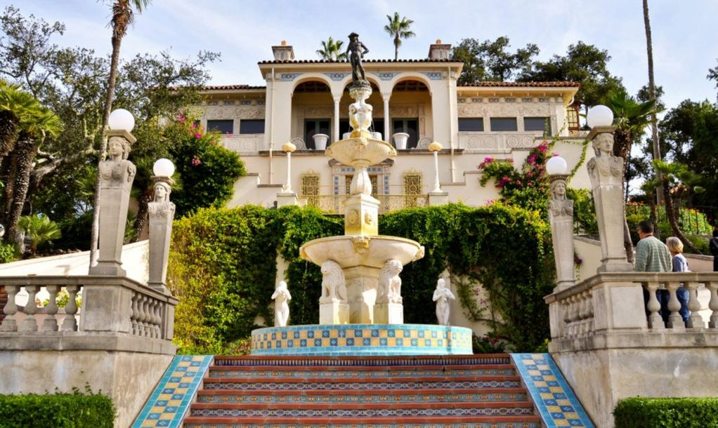 Casa del Sol, a guest house at the Hearst Castle, San Simeon, CA.