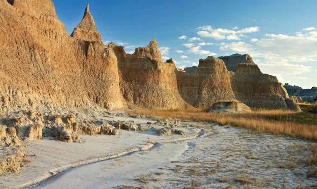 USA, South Dakota, Badlands National Park.