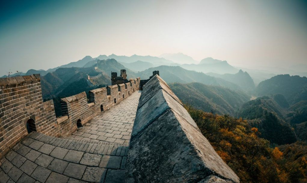 the Great Wall at beijing,china
