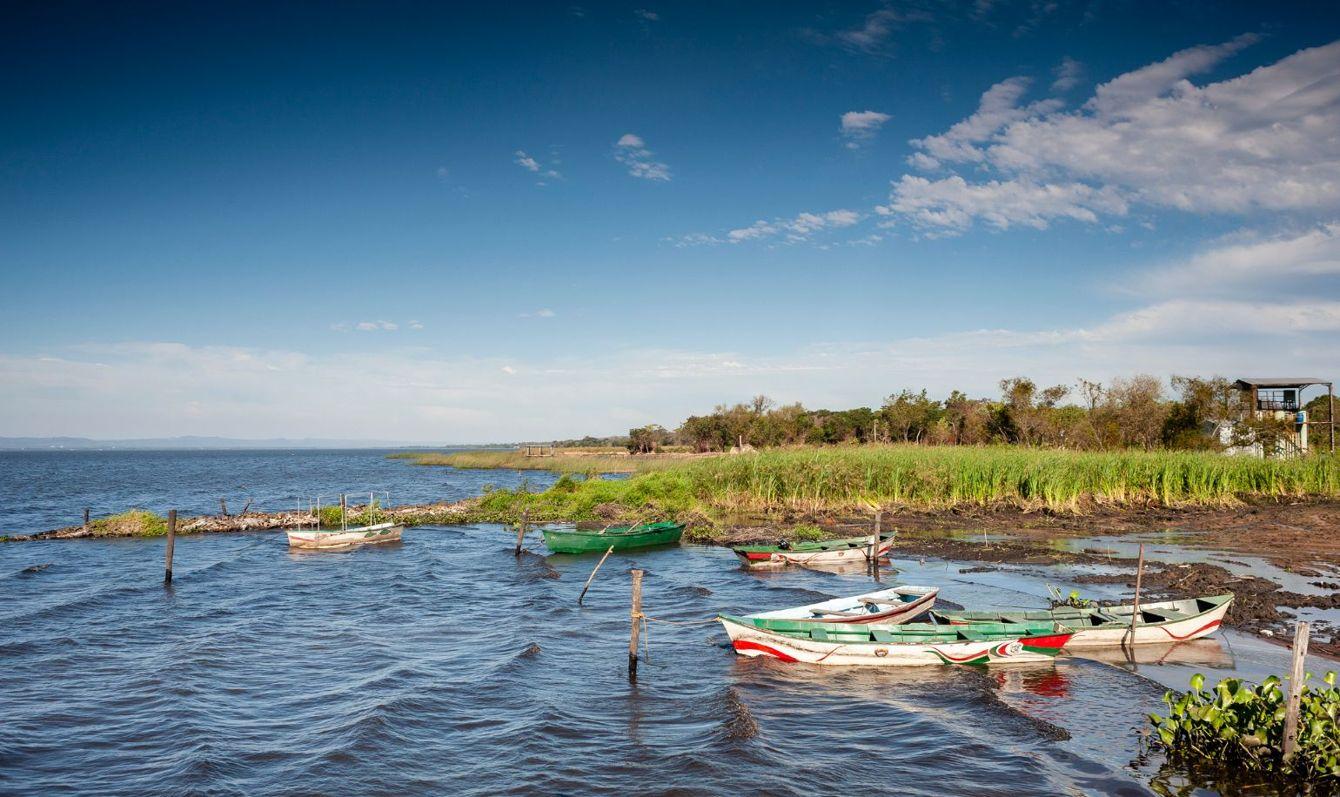 Lake Ypacaraí, San Bernadino, Paraguay.