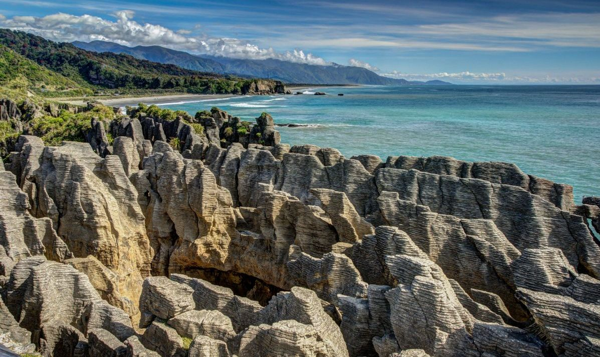 """Pancake Rocks, Punakaiki, West Coast, New Zealand"""
