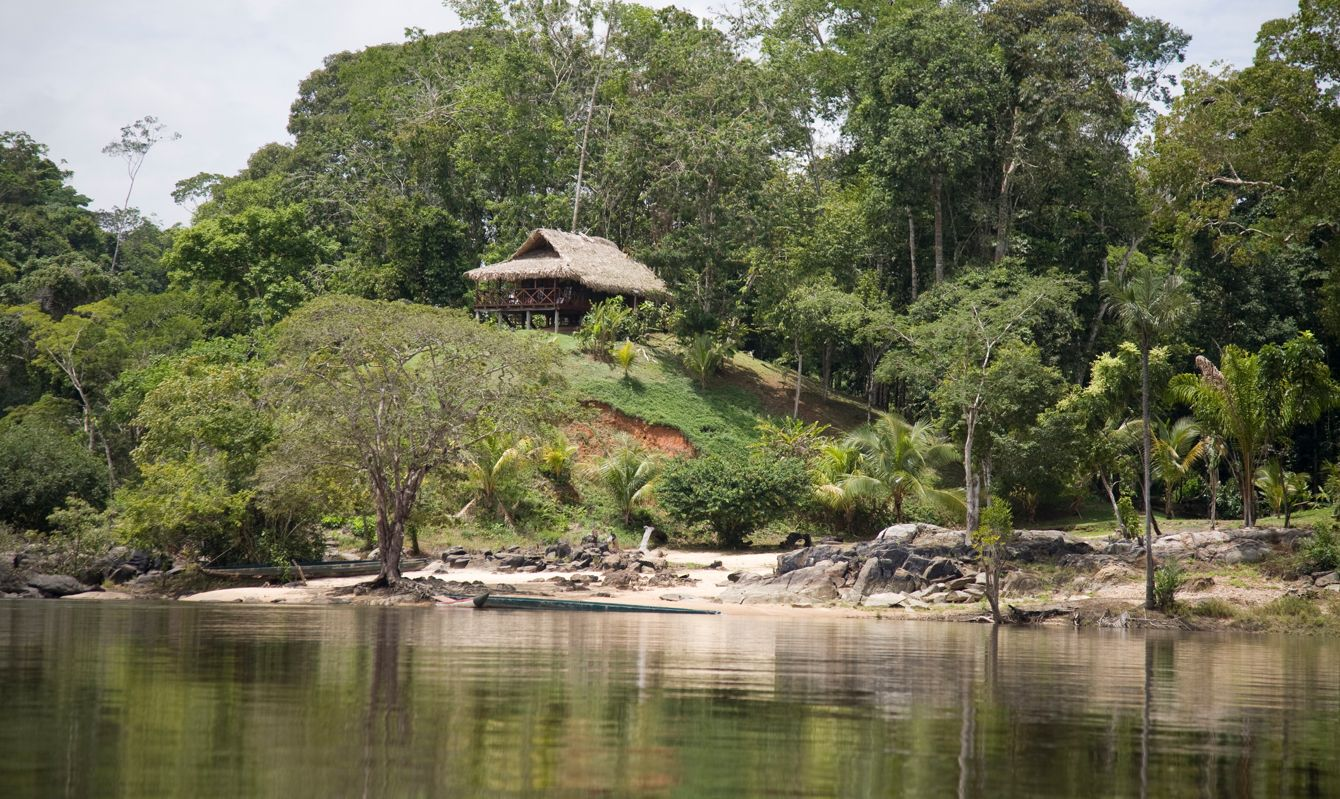 Suriname, Arapahu Island