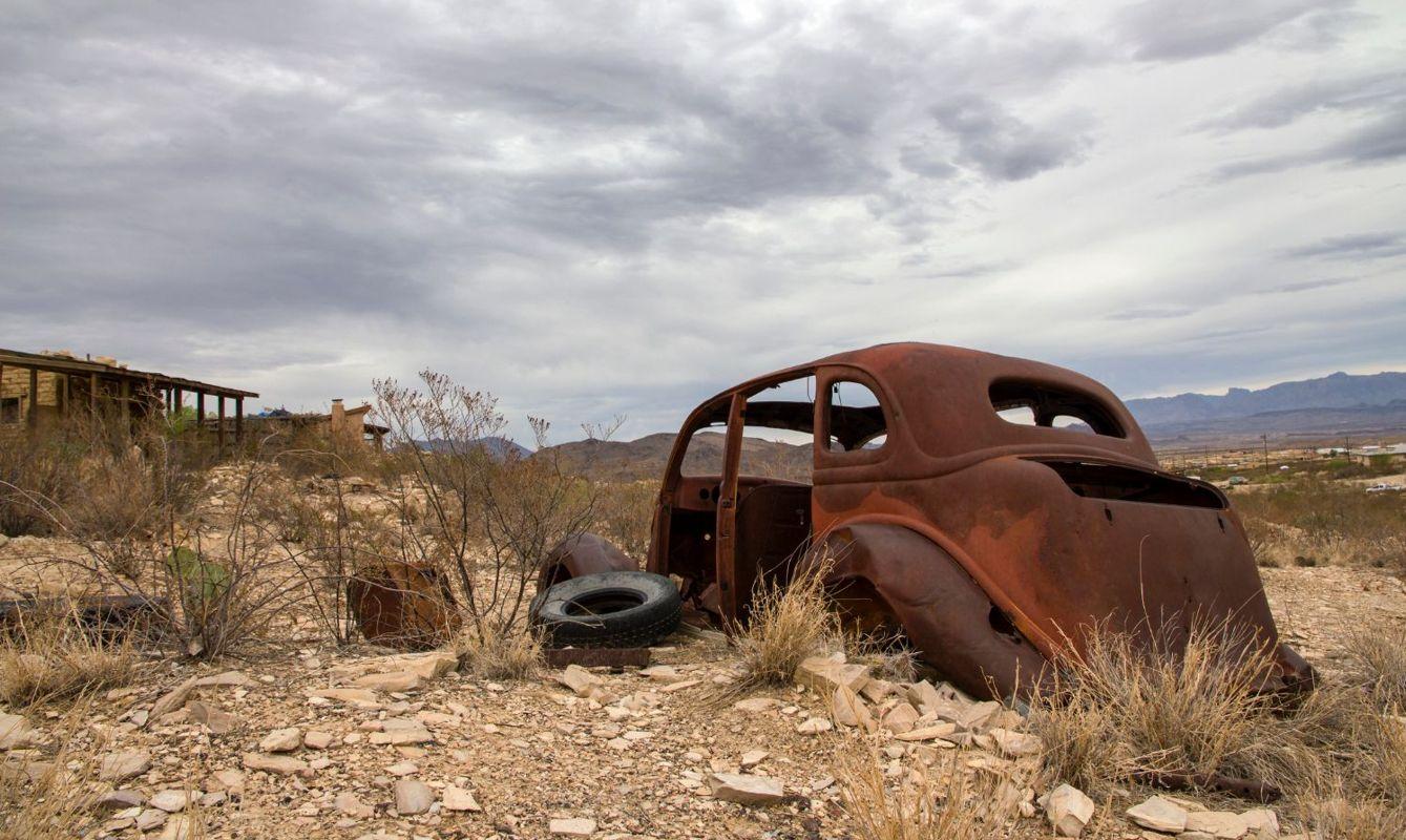 Terlingua Ghost Town - Texas near Mexico Boarder