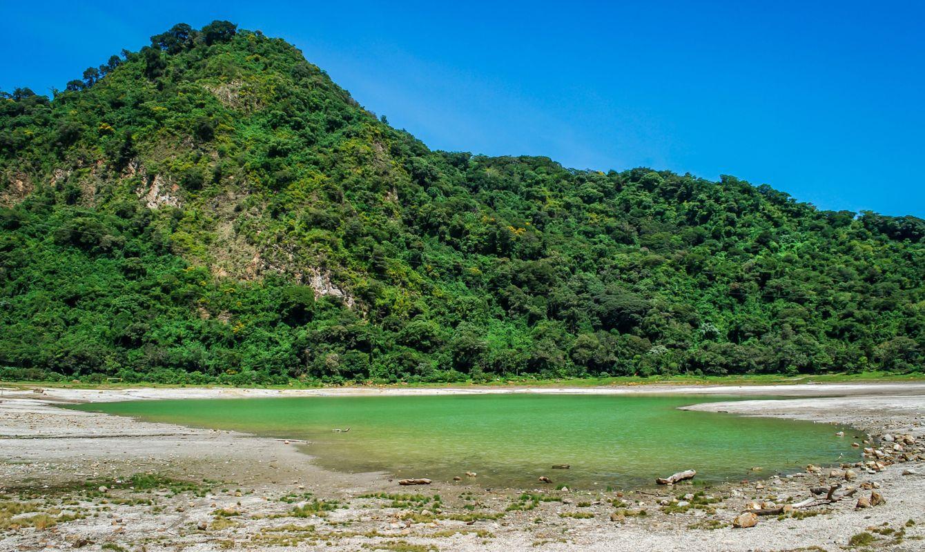 Alegria Lagoon in El Salvador