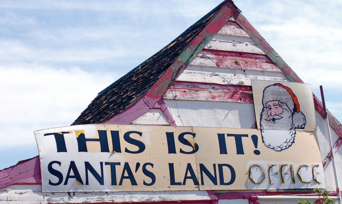 Santa Claus ghost town, Arizona