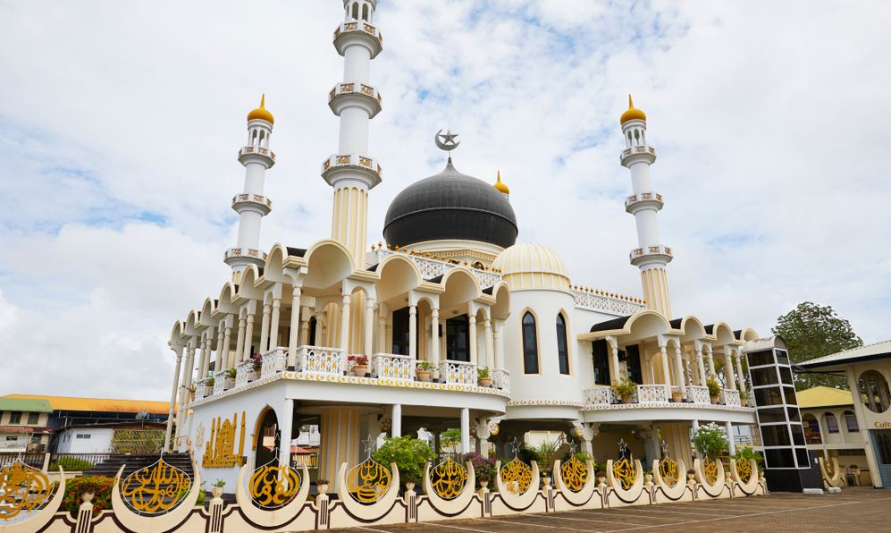 Mosque 'Keizerstraat' of Paramaribo, Suriname