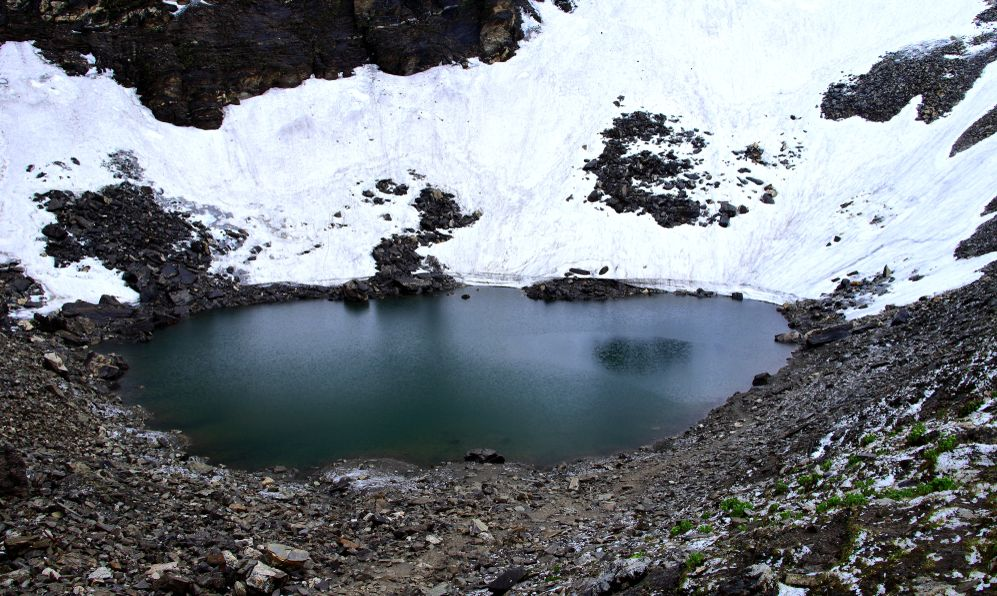 Glacier Lake - Roopkund