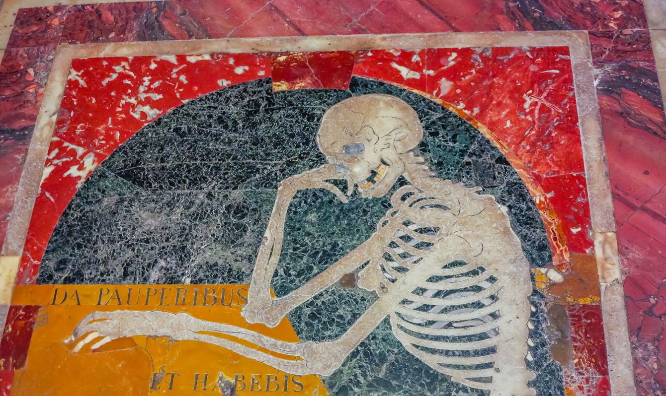 Mosaic of St John's Co-Cathedral - Valletta, Malta