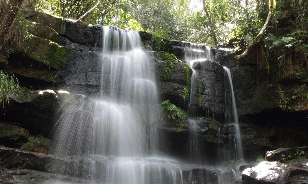 Guarani Waterfall, Ybycui National Park, Paraguay