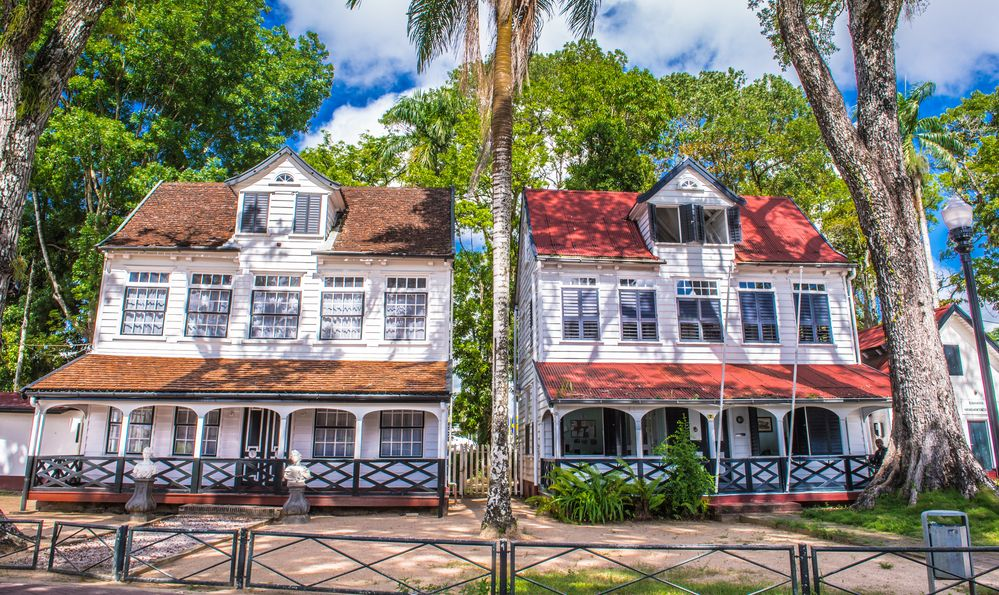 Architecture of the historic city of Paramaribo, Suriname