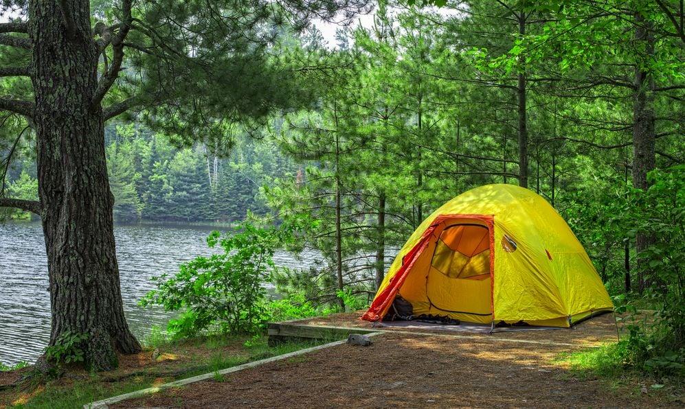 Tent Campsite, Voyageurs National Park, Minnesota