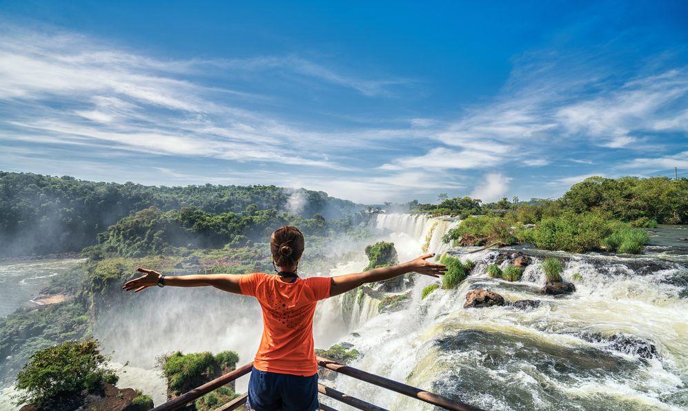 Las Cataratas del Iguazú Iguazú Falls Argentina