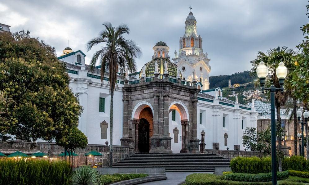 Plaza Grande and Metropolitan Cathedral - Quito, Ecuador -