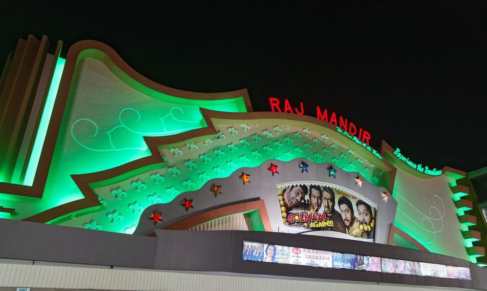 Raj Mandir Cinema is a famous movie theatre in Jaipur.