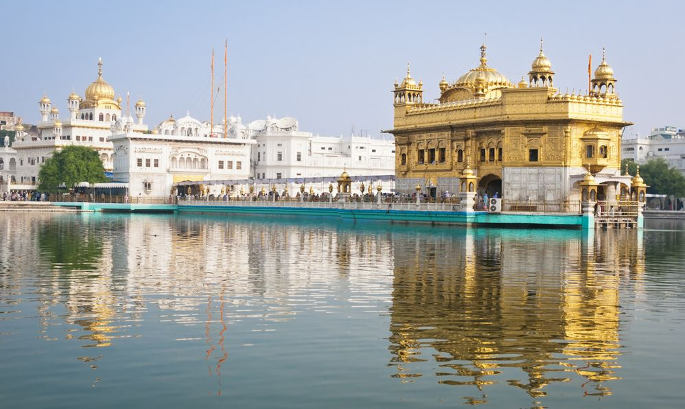 Golden Temple/Darbar Sahib, the spiritual and cultural center of the Sikh religion, India