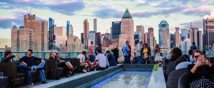 Best Rooftop Bars In NYC Outside of Manhattan