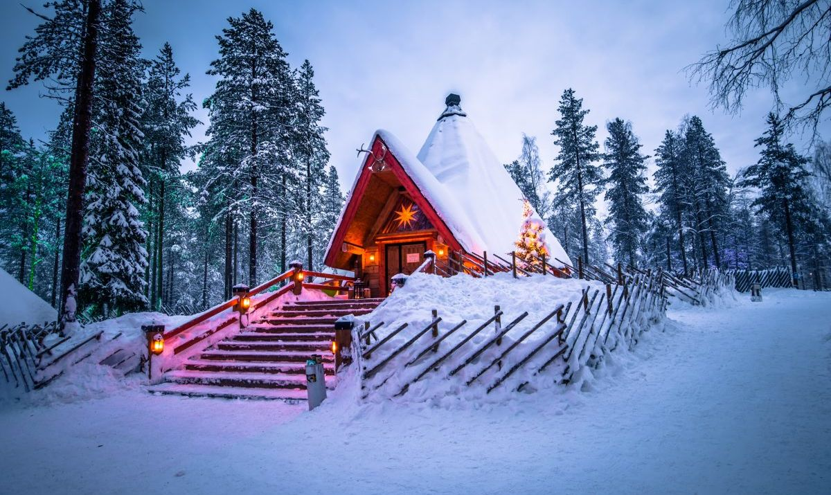 Santa Claus village of Rovaniemi, Finland