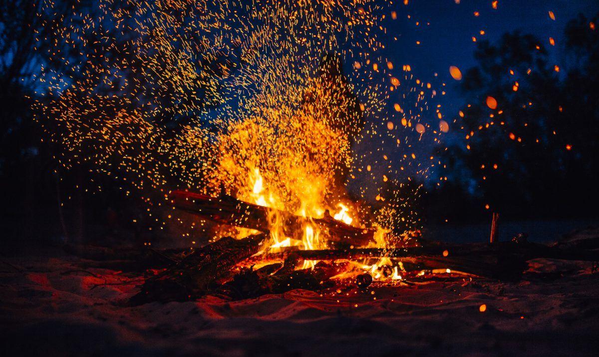 Bahamas bonfire