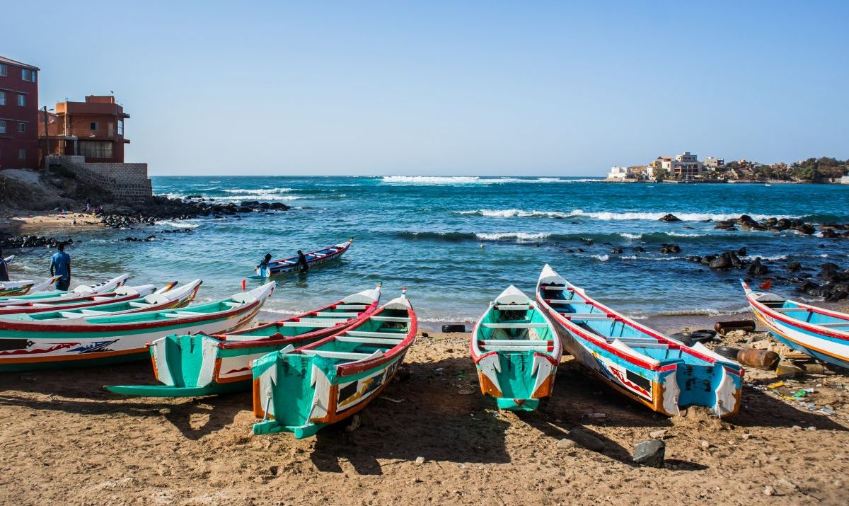 A bay in Ngor, Dakar.