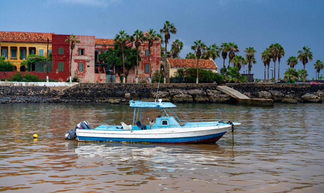 Gorée Island in Dakar, Senegal
