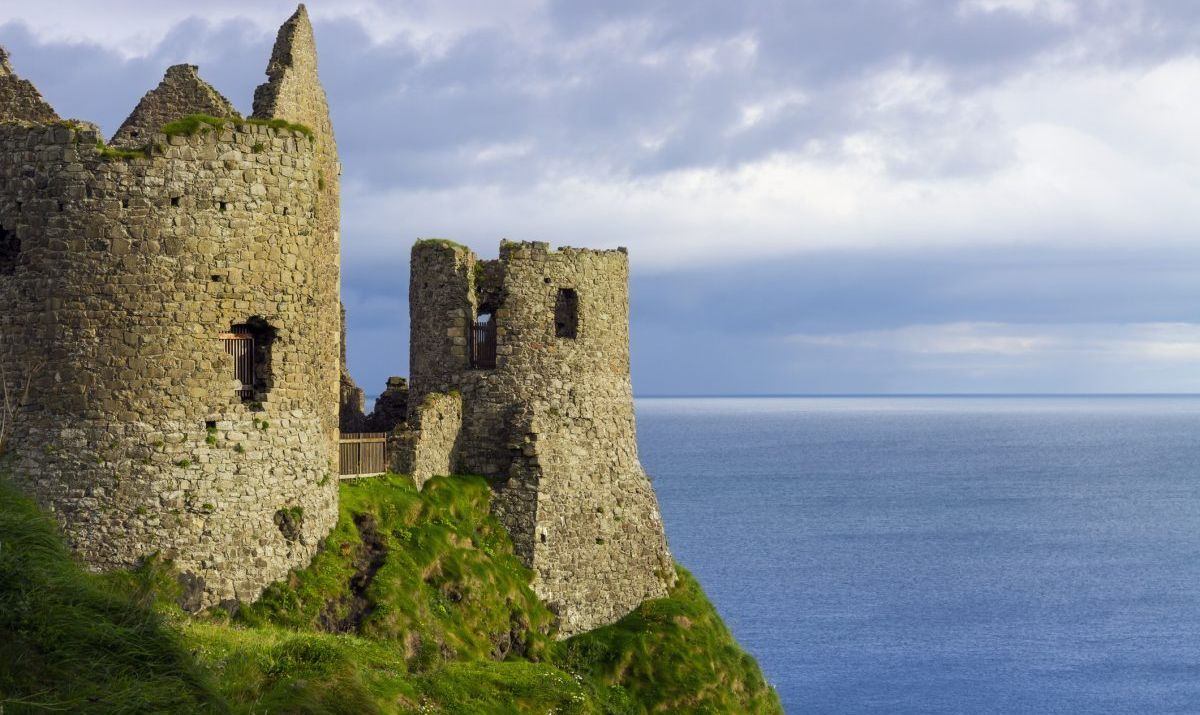 The ruins of Dunluce Castle are a romantic spot for getting hitched