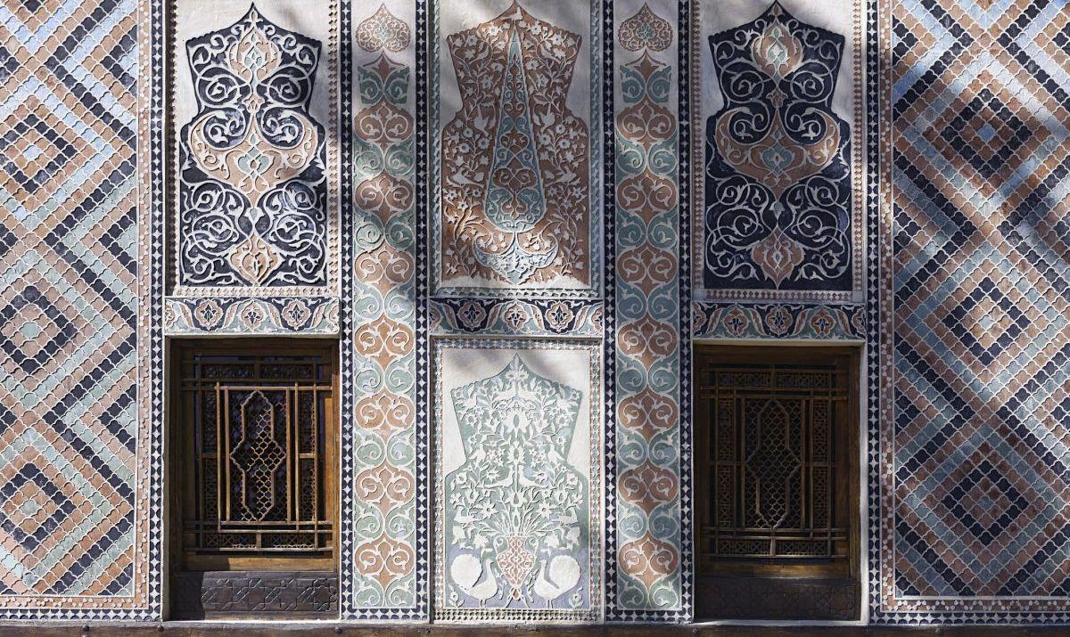 Palace of Shaki Khans in Azerbaijan