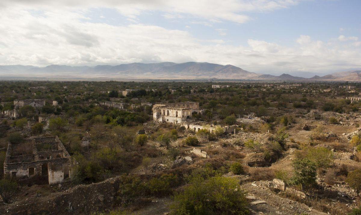 Agdam destroyed town in Nagorno Karabakh