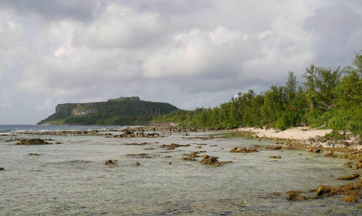 Sasanhaya Bay Fish Reserve, Songsong, Rota