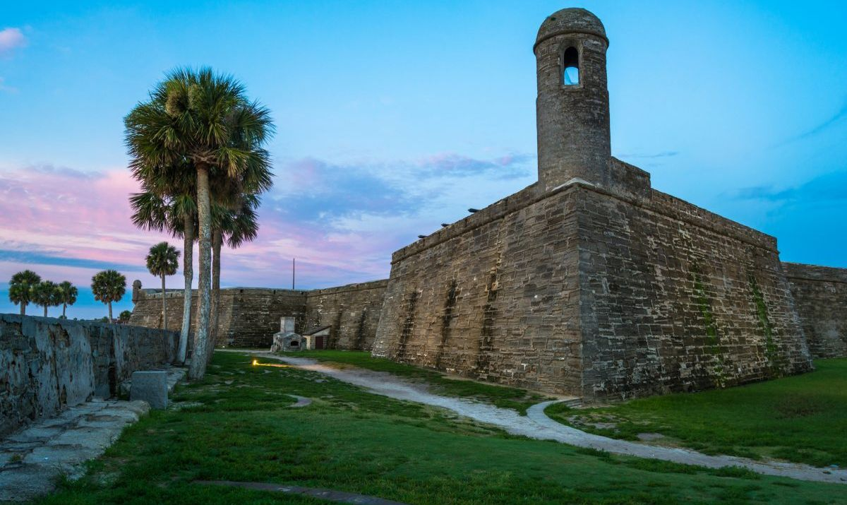 Sunrise Over Castillo de San Marcos