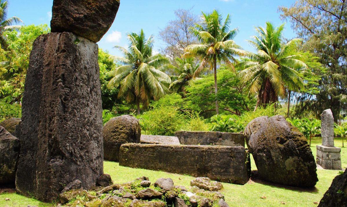 House of Taga on Tinian, Northern Mariana Islands