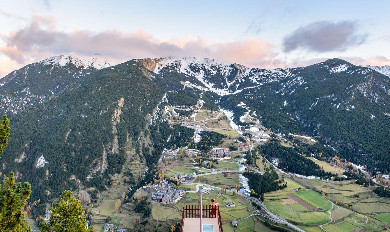 Mirador Roc del Quer, Canillo. Andorra