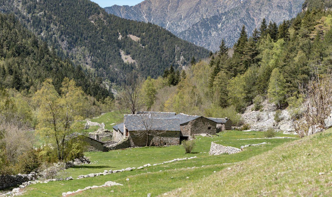 Madriu-Perafita-Claror Valley in Andorra,UNESCO world heritage site