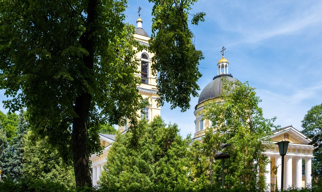 Cathedral of St Peter and St Paul in Gomel, Belarus