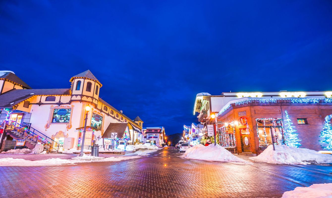 Leavenworth charms visitors during the wintertime.