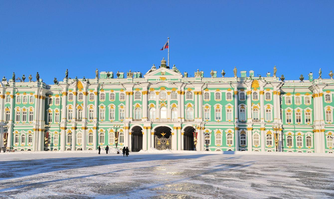 Saint-Petersburg. The Winter Palace
