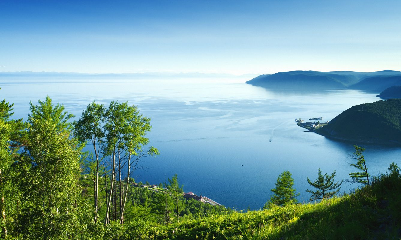 View of Lake Baikal