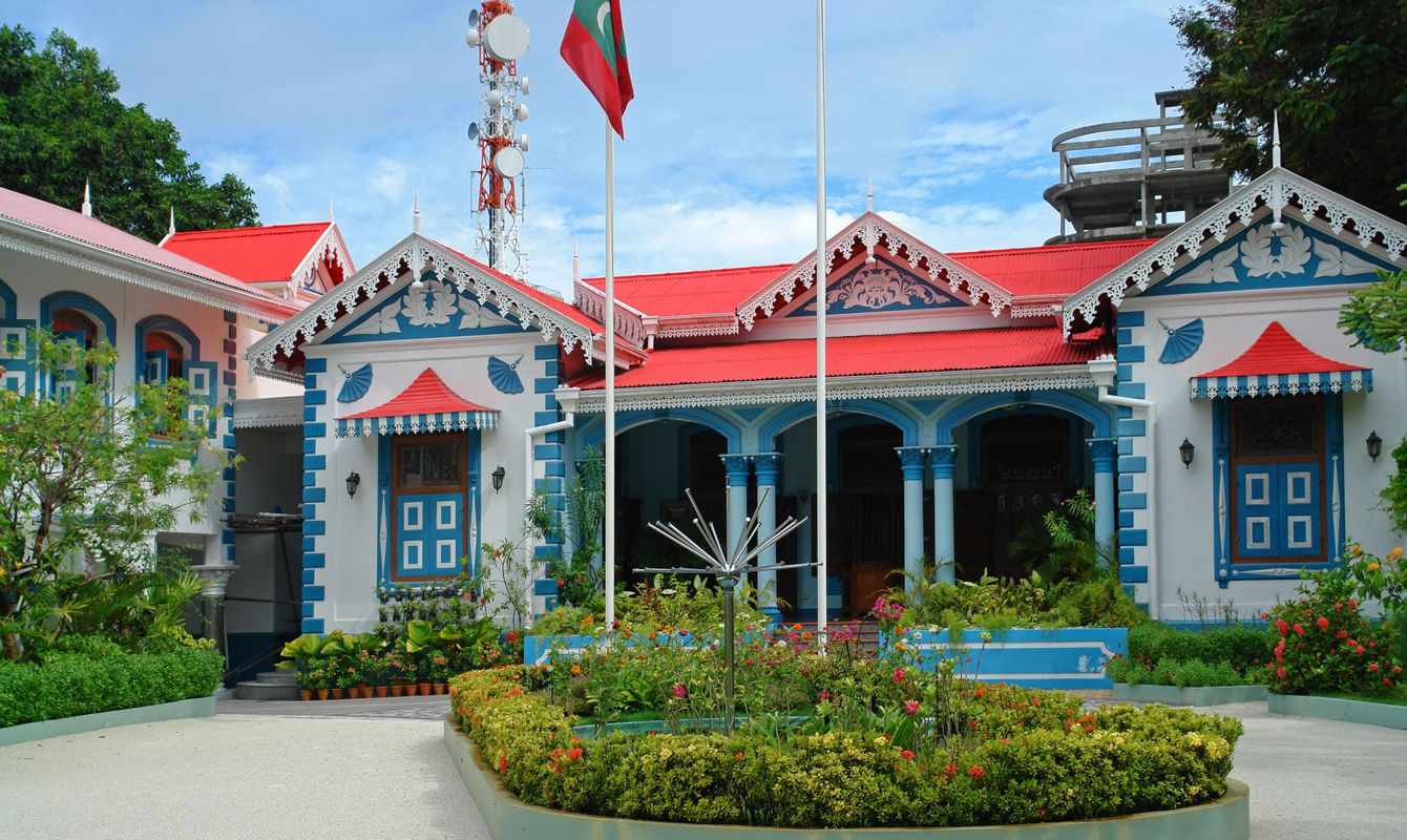 Muleeaage Sultan's Palace in Male, Maldives