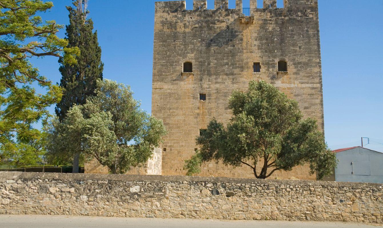 Medieval castle of Kolossi, Cyprus