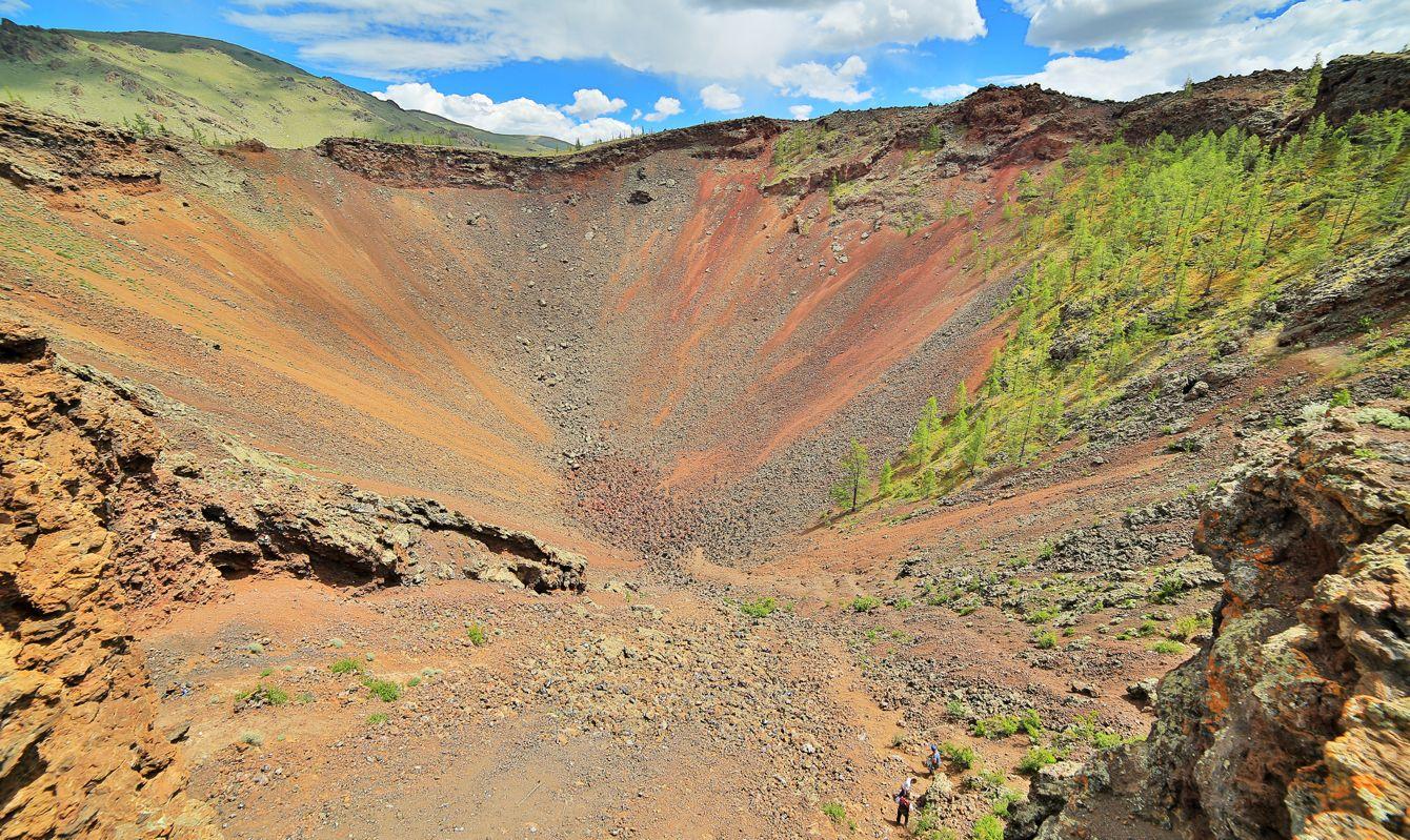 Khorgo Volcano Crater, Central Mongolia
