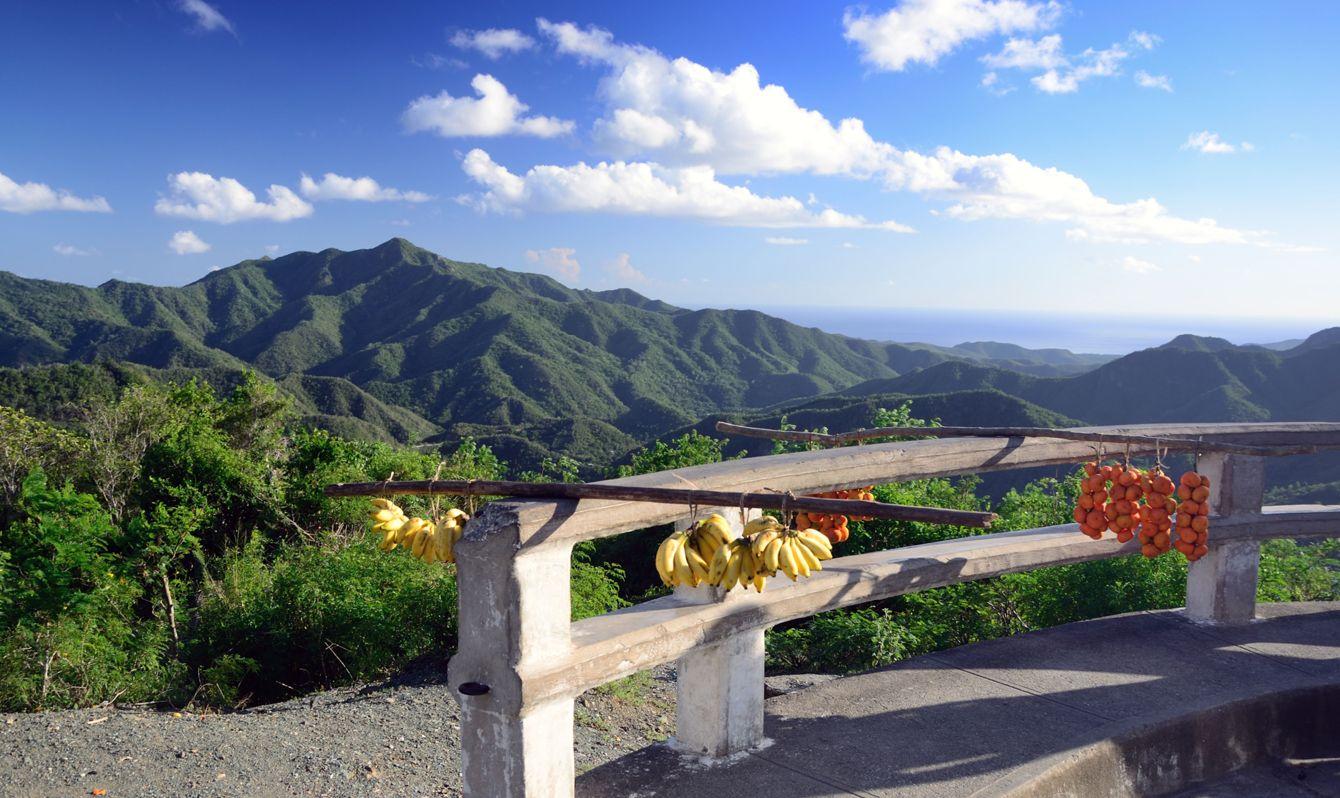 Sierra Maestra is a mountain range in southeast Cuba