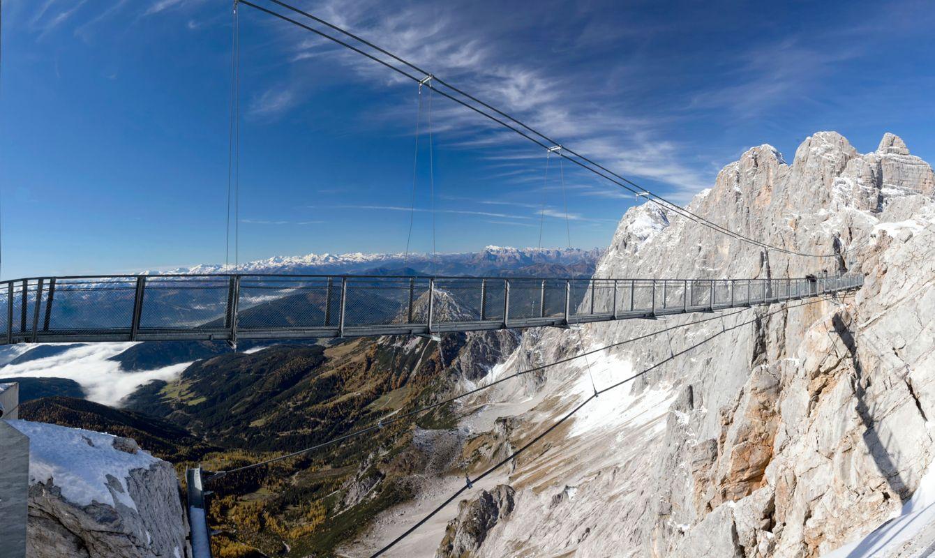 The famous Dachstein Skywalk