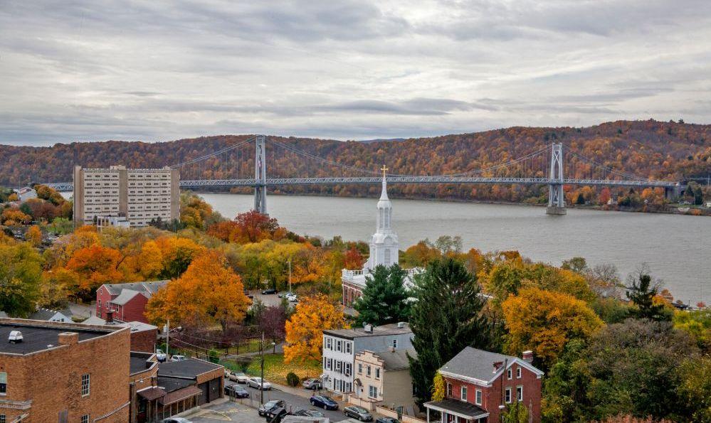 Poughkeepsie mid hudson bridge